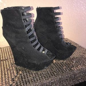 Bertinni Goth Wedge Platform